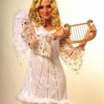 Anielica z harfą